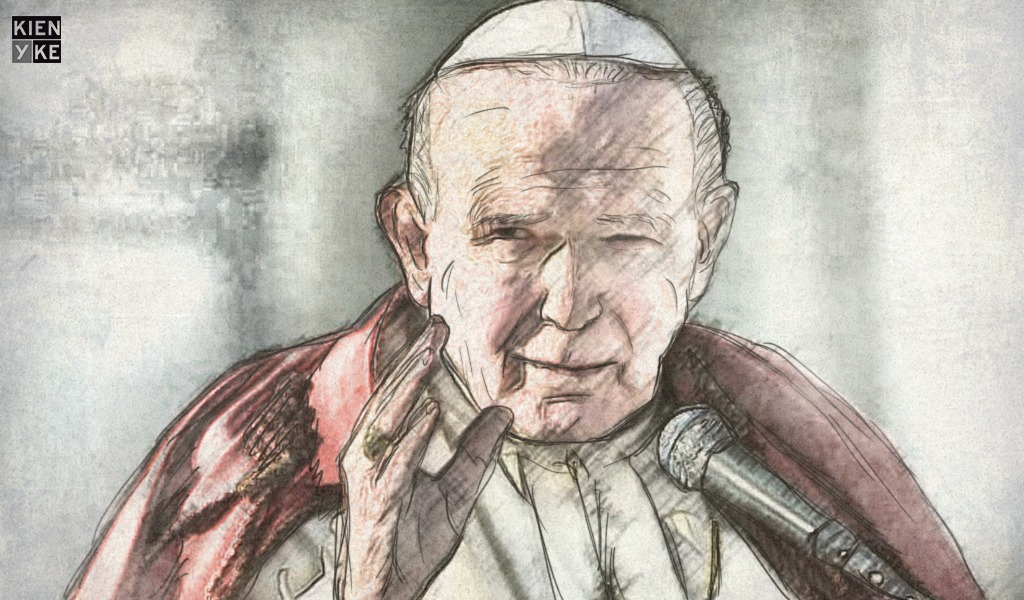 Juan Pablo II, un personaje político