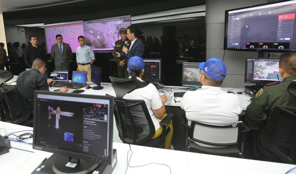La tecnología, aliada de la seguridad de Medellín