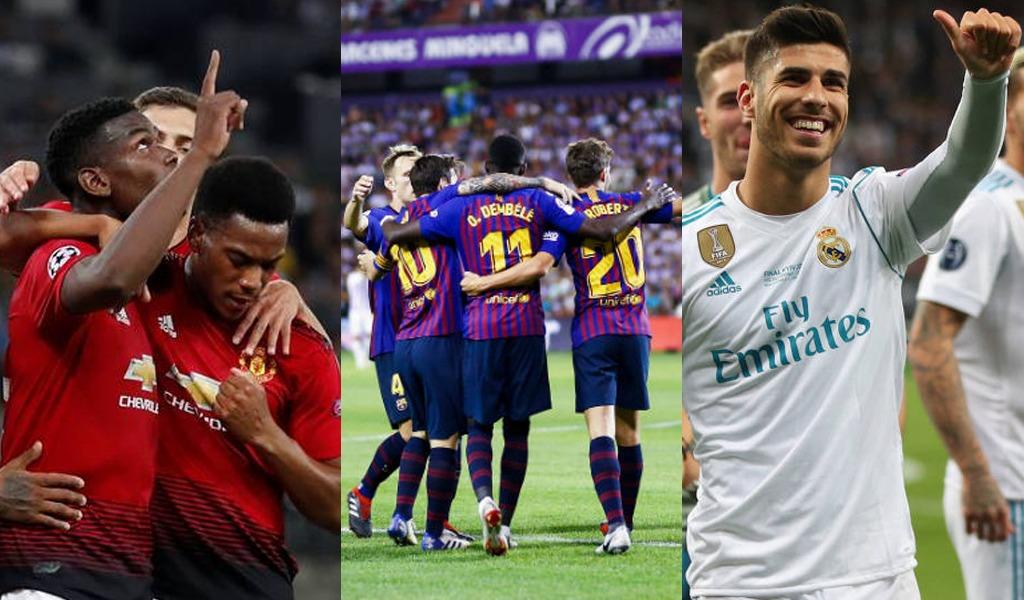 ¿Qué pasa con los grandes equipos en Europa?