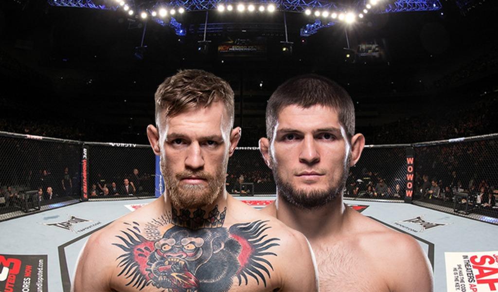 Prográmese para la pelea de Conor McGregor vs Khabib Nurmagomedov