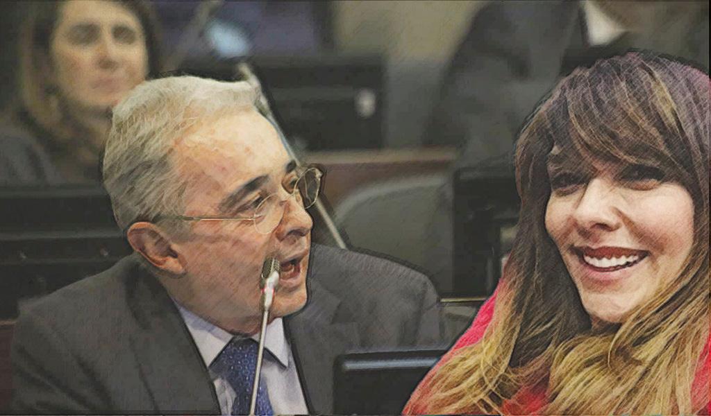 Álvaro Uribe de nuevo al ring contra una presentadora