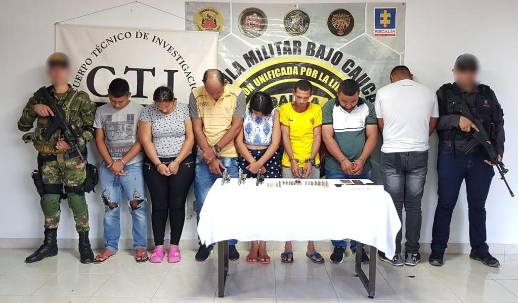 Capturados integrantes del Clan del Golfo en Antioquia
