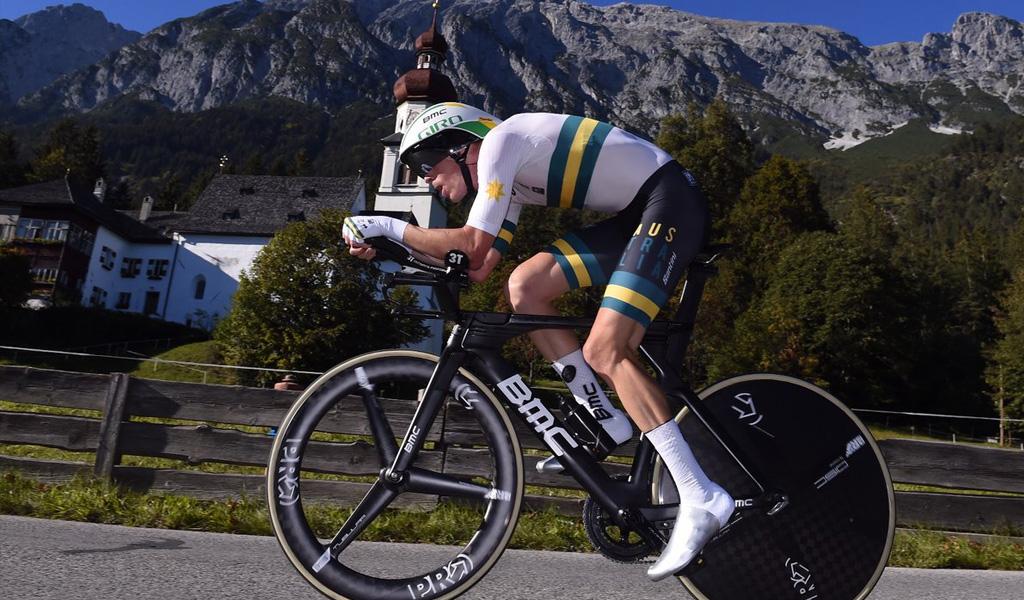 Rohan Dennis campeón de CRI en Mundial de Innsbruck