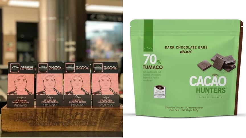 Chocolates colombianos, entre los mejores del mundo