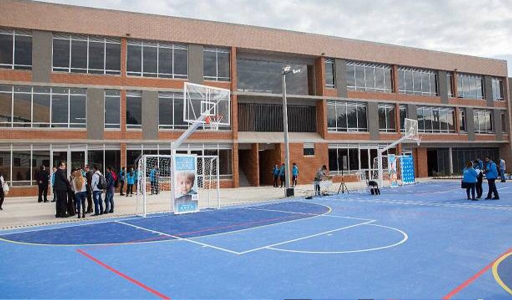 Inversión millonaria para colegios de Bogotá
