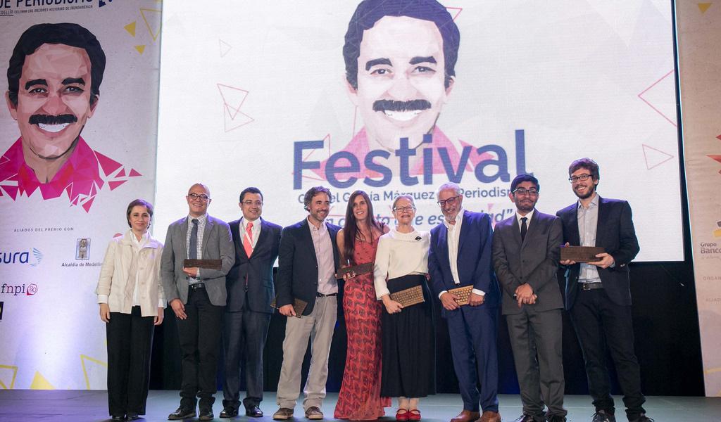Finalistas del Premio GABO de periodismo 2018