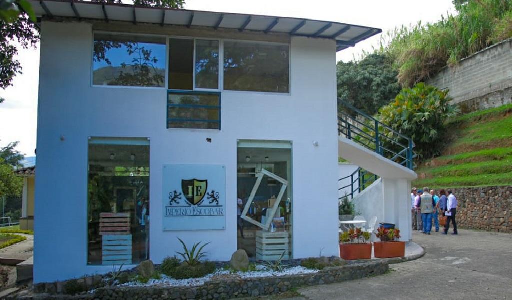 Sellan museo dedicado a la memoria de Pablo Escobar