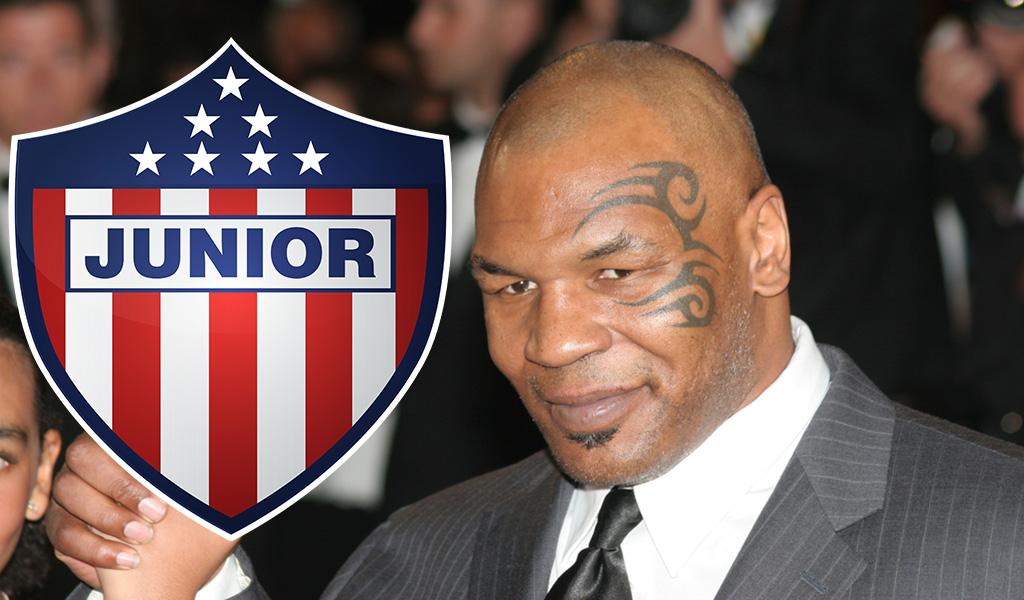 ¿Por qué Mike Tyson posó con la camiseta del Junior?