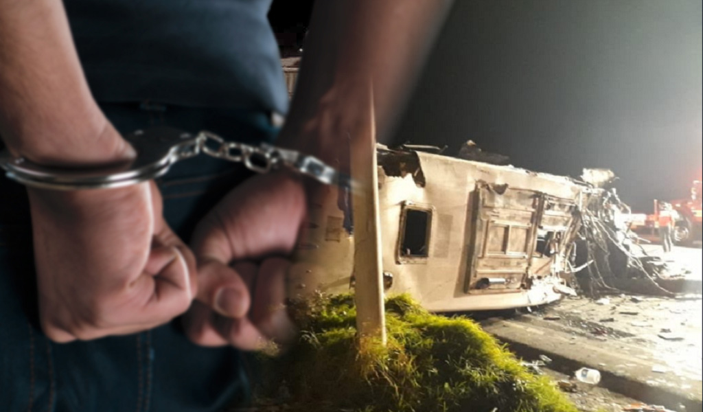 Capturan a cabecilla del cartel de los 'narcobuses'