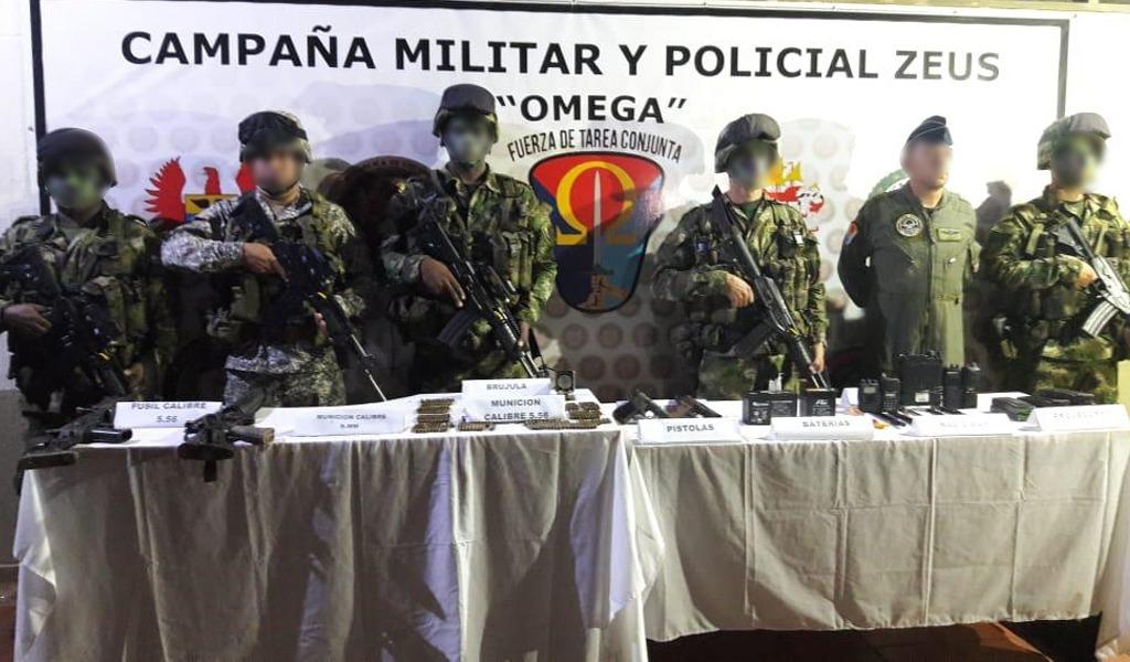 Neutralizados dos disidentes de las Farc en Guaviare