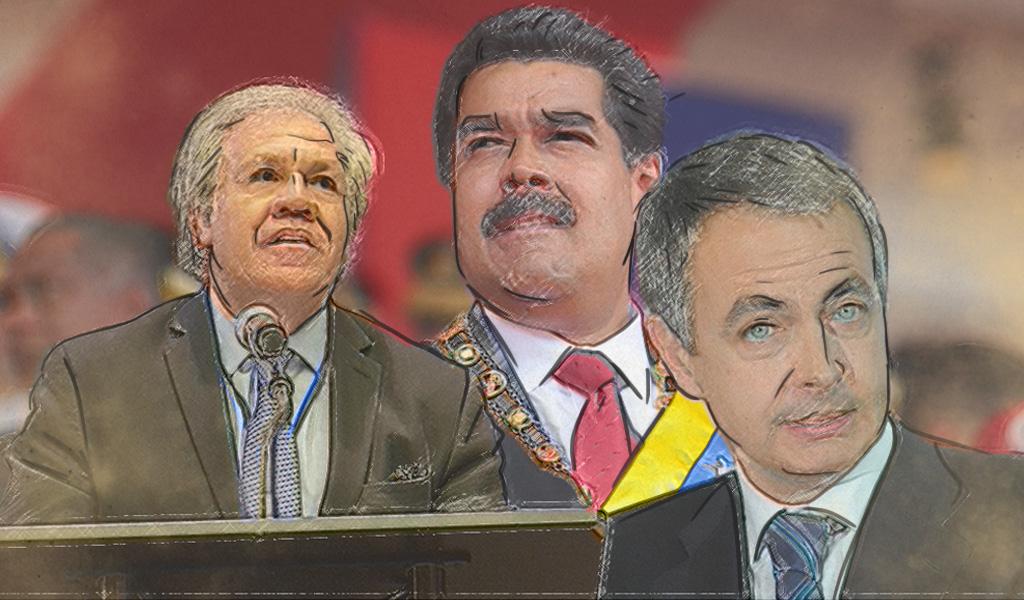 Almagro y Zapatero enfrentados por Venezuela