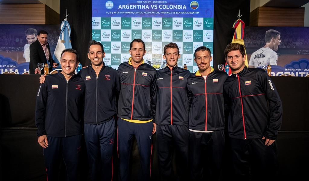 Colombia enfrentará a Suecia en Copa Davis 2019