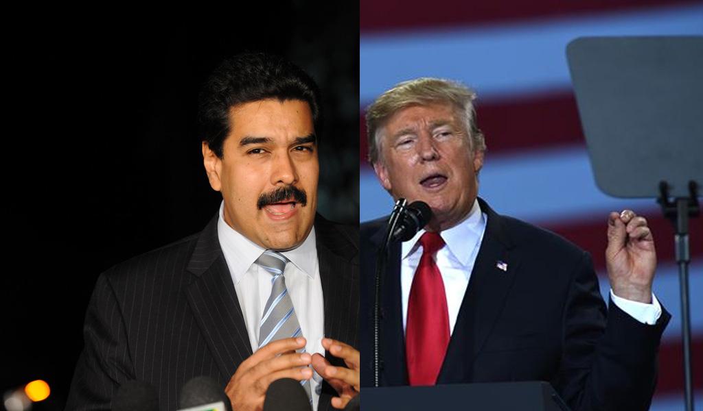 No hay reunión prevista entre Trump y Maduro