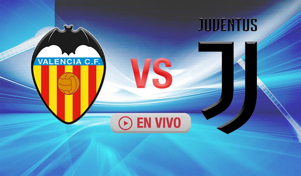 Minuto a minuto: Valencia vs Juventus