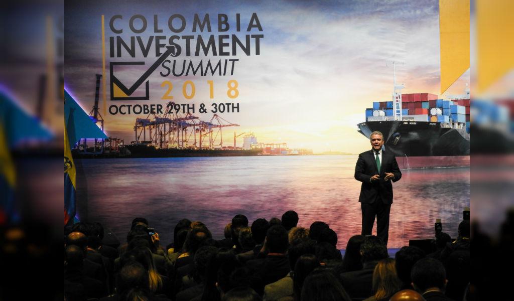 Colombia quiere potenciar la inversión