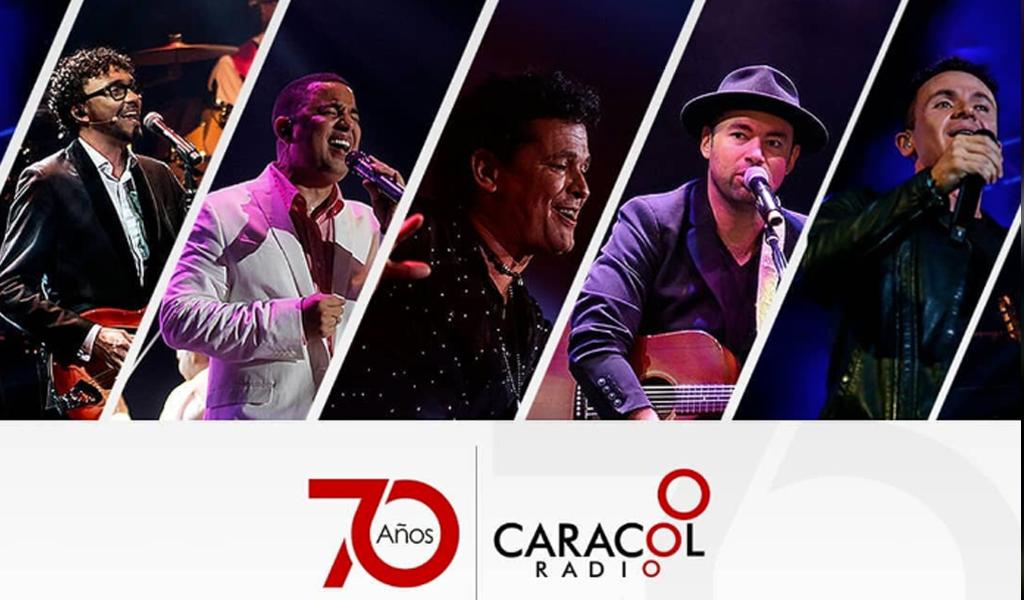 Caracol Radio 70 años