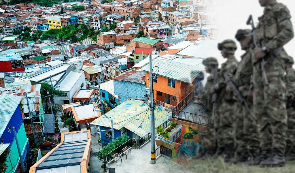Habitantes denuncian balacera en Comuna 13 de Medellín