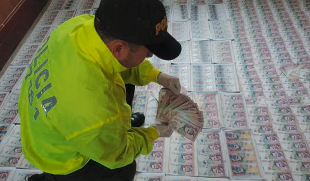 Policía desmantela red de falsificadores en Atlántico