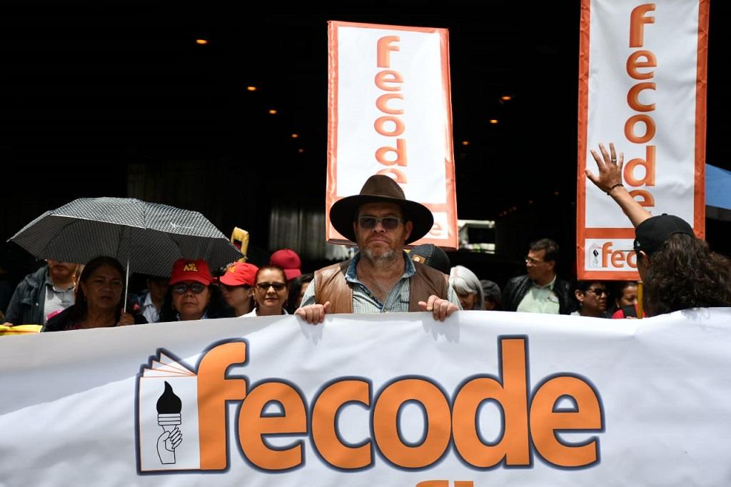 Fecode denuncia amenazas de muerte contra la directiva