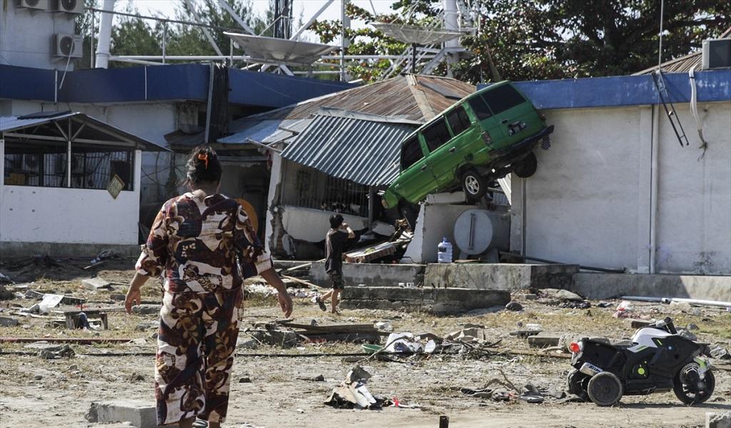 ONU moviliza ayuda para víctimas de terremoto en Indonesia
