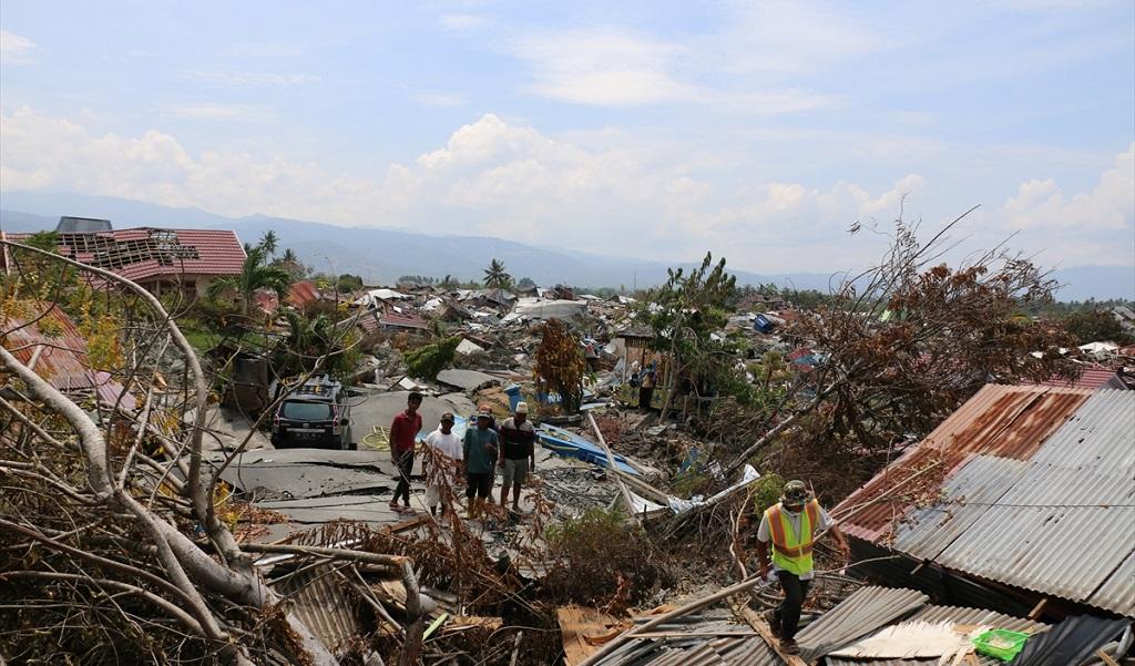 La herida que dejó el terremoto en Indonesia