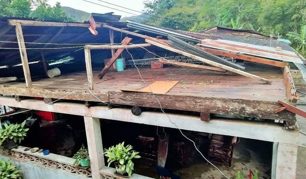 municipios afectados por vendaval