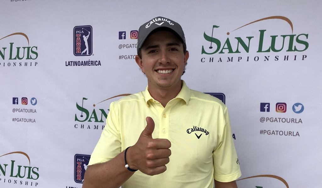 Nicolás Echavarría campeón del San Luis Championship