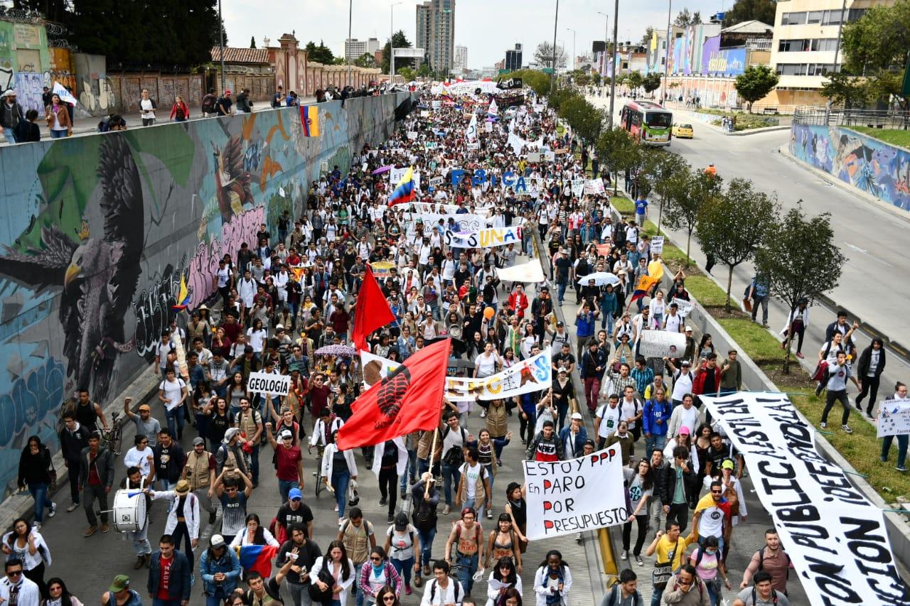 Así fue la marcha estudiantil