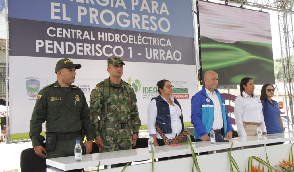 Iniciará construcción de Central Hidroeléctrica en Urrao