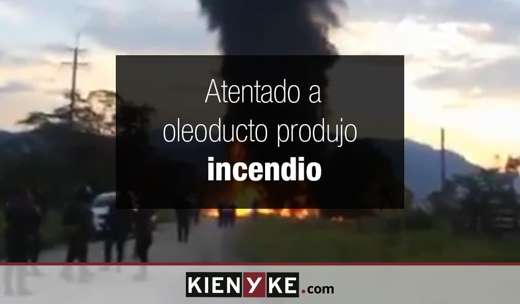 Se presentó atentado en oleoducto de Putumayo
