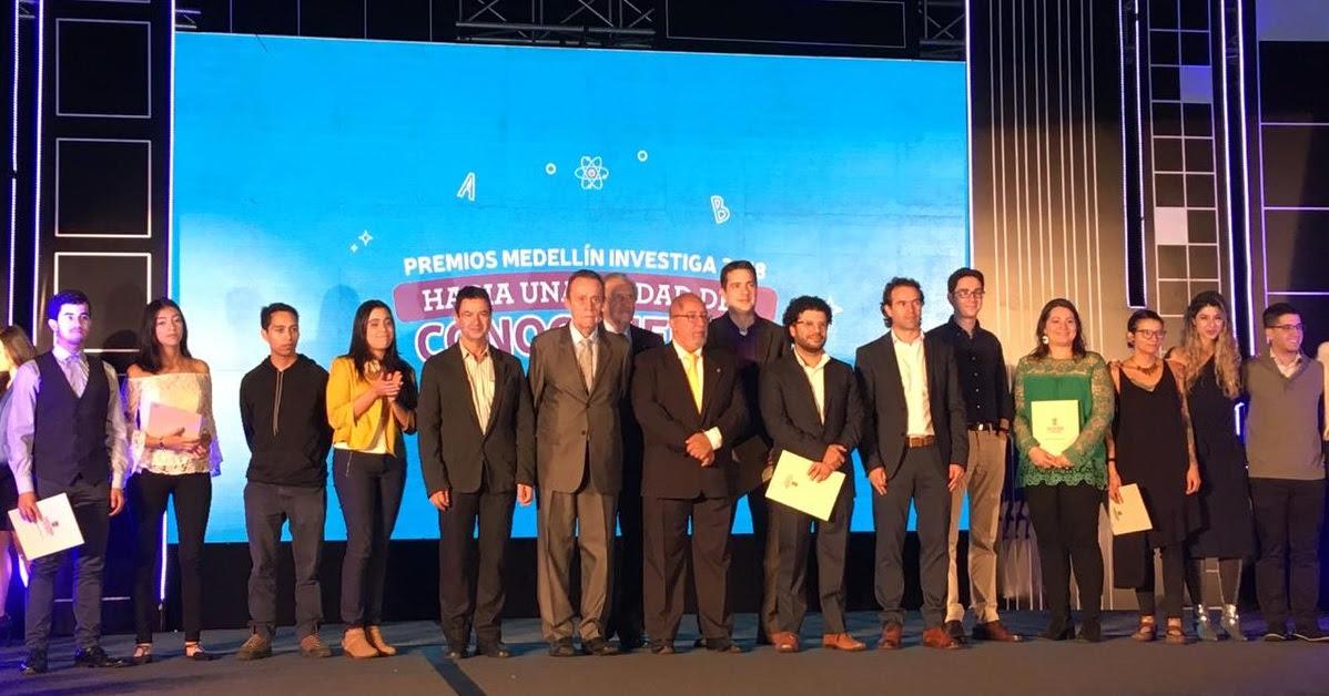 Medellín premia a sus investigadores