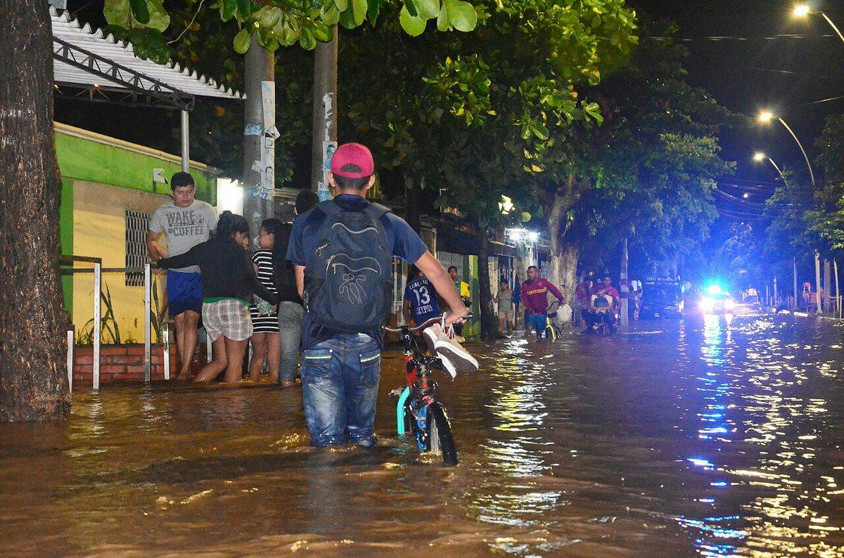 2,300 familias afectadas en Santa Marta por fuertes lluvias