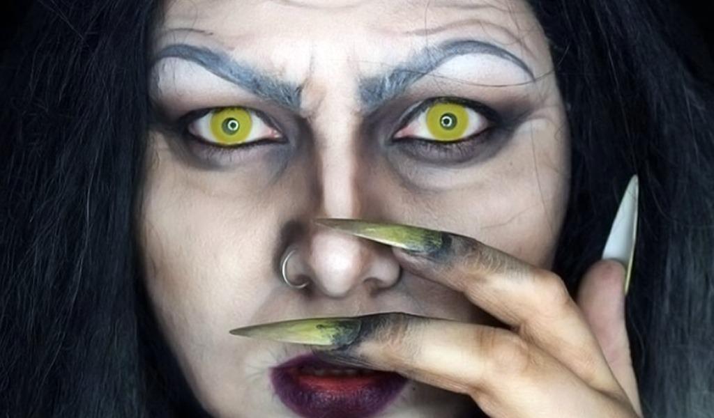 Ojo con los lentes que utiliza para celebrar Halloween