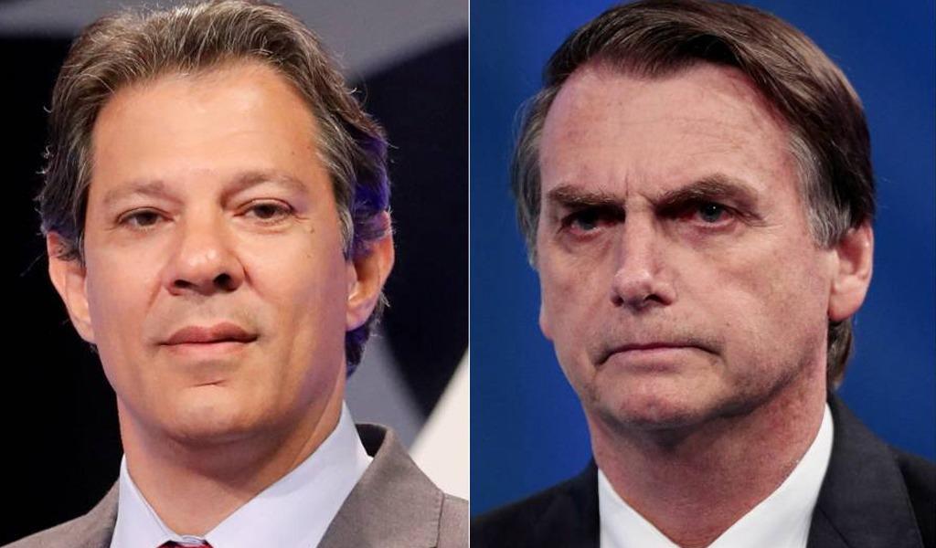 Segundo round: Bolsonaro Vs. Haddad
