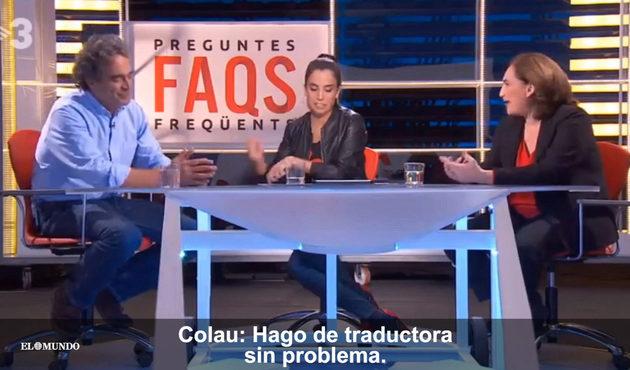 Sergio Fajardo en tierra extraña