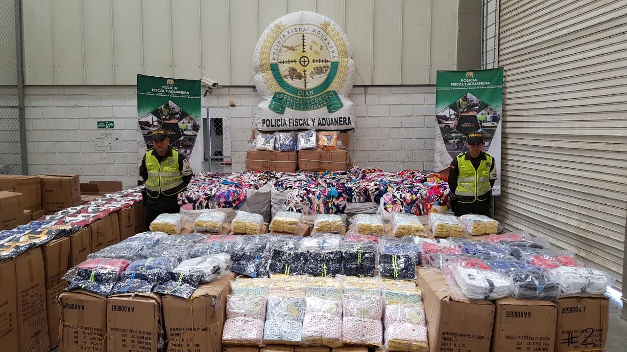 Autoridades decomisan $256 millones en contrabando