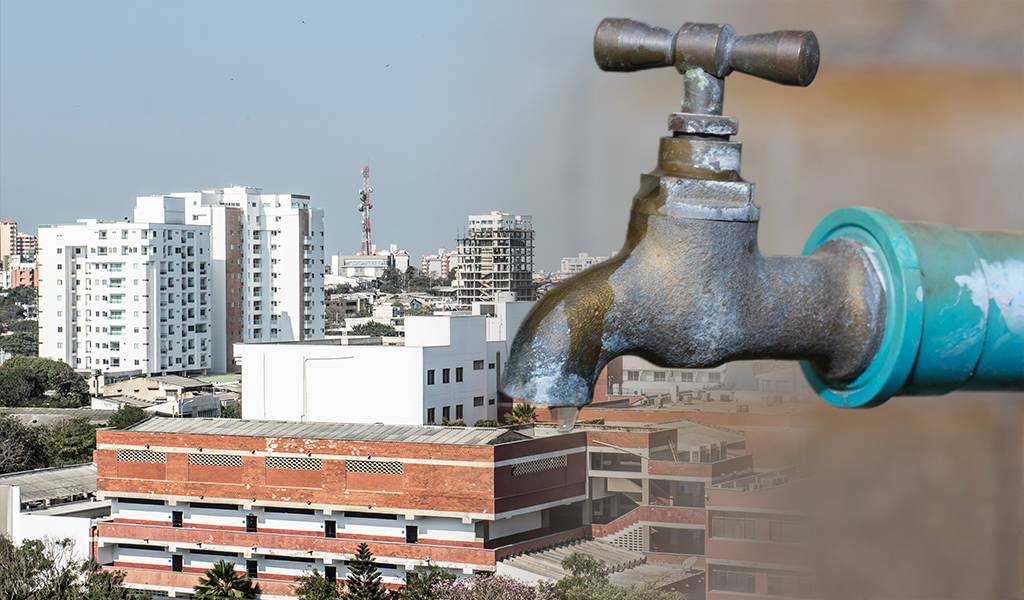 Cortes de agua en Barranquilla