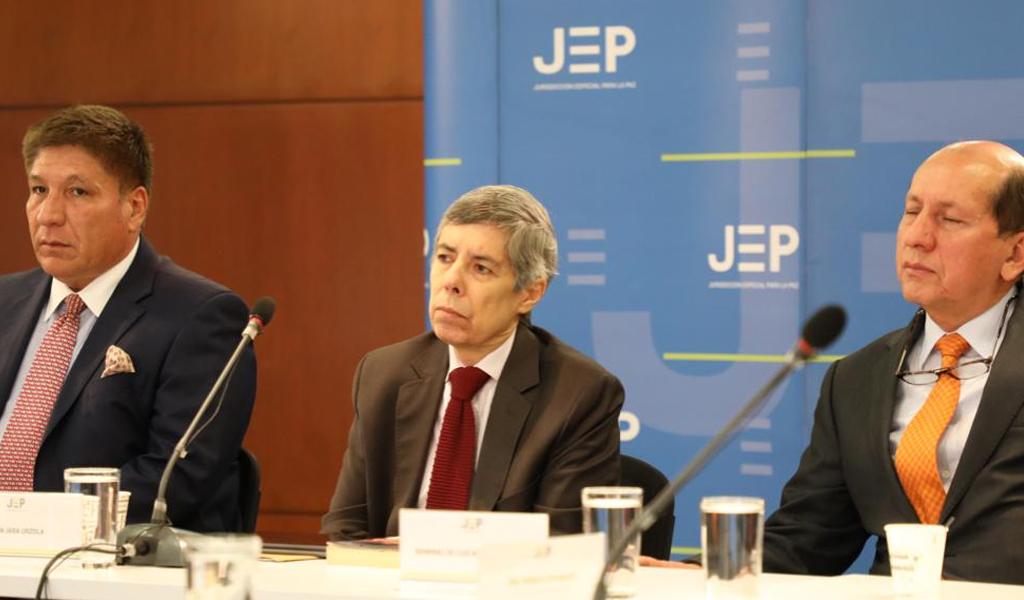 Sigifredo López, Alan Jara y Mendieta ante la JEP