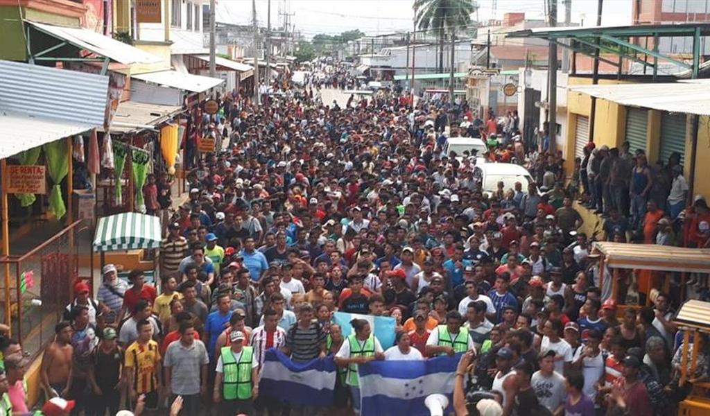 Defensores de DDHH preocupados por caravana de migrantes