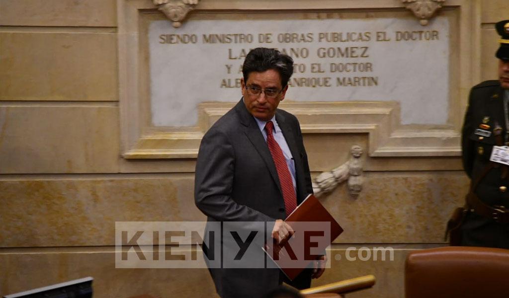 EN VIVO: Debate moción de censura a Carrasquilla