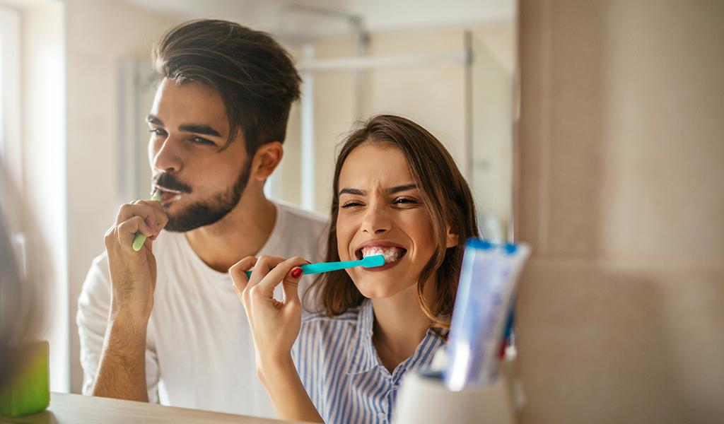 Cepillado de los dientes, fundamental para la salud bucal
