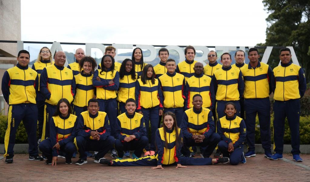 Colombia llegó a los Juegos Olímpicos de la Juventud