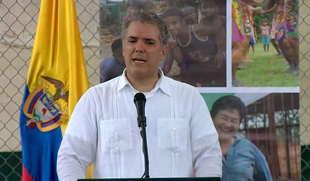 Duque destinará recursos para víctimas de Machuca