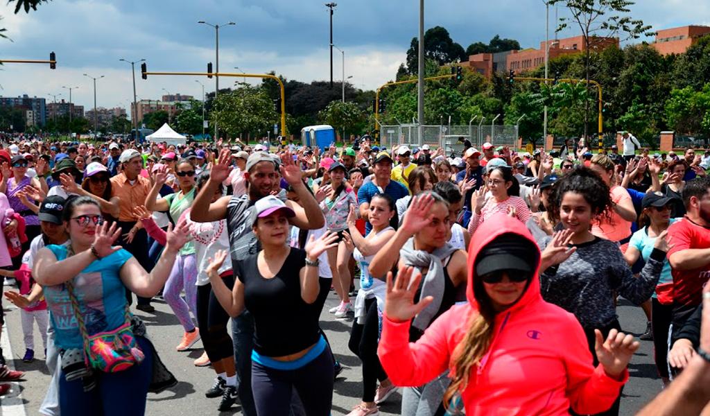 Entre ejercicio y baile: Bogotá Fitness Festival