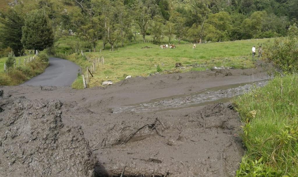 Emergencia en Boyacá tras desbordamiento de quebrada
