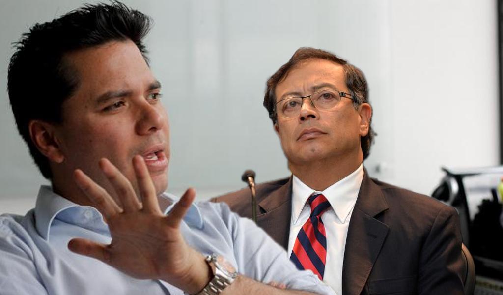 Gustavo Petro responde a pullas de Luis Carlos Vélez