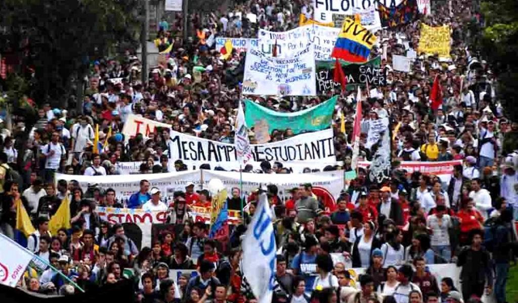 Las voces tras la marcha estudiantil