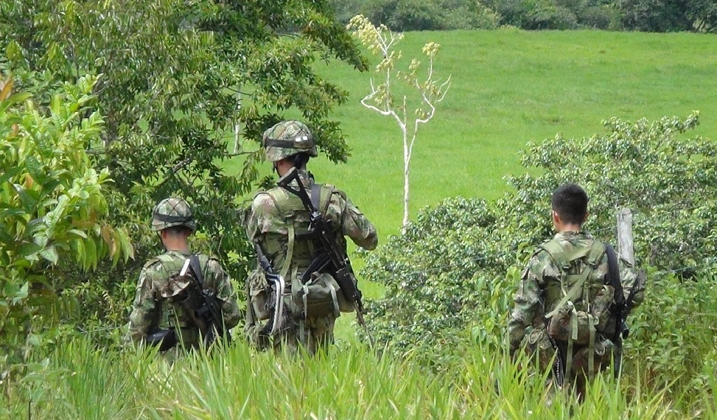 Neutralizados cinco integrantes del Clan del Golfo en Antioquia