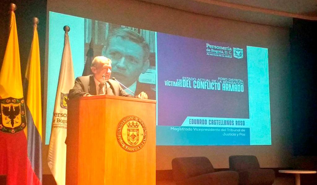Magistrado Eduardo Castellanos