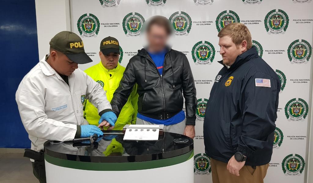 Bogotá y Cali: capturan capos de operación internacional de tráfico de cocaína